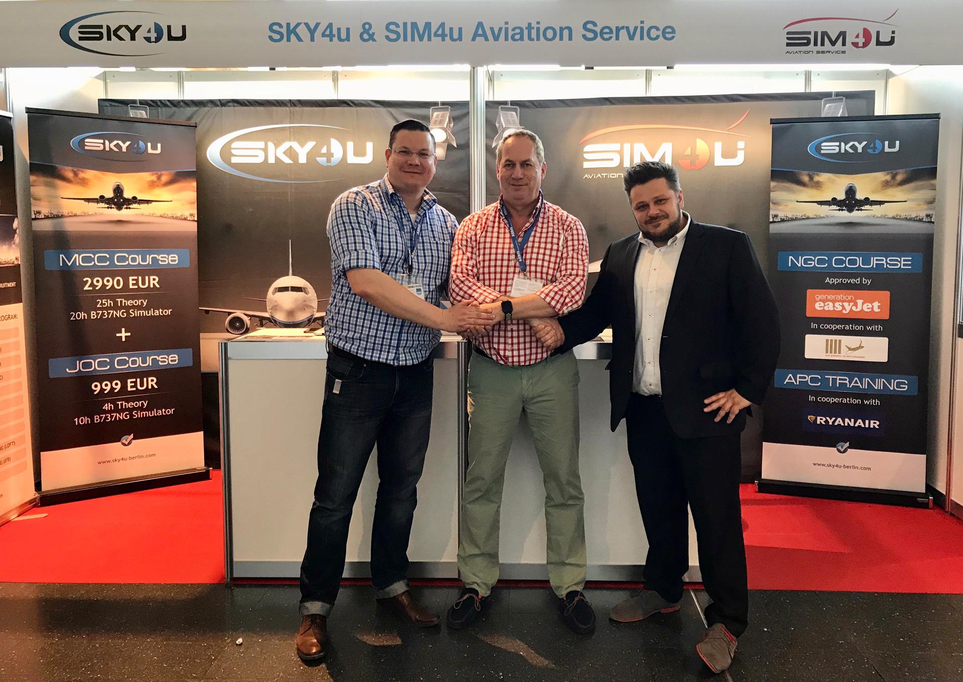 cooperation SKY4u and ATTC